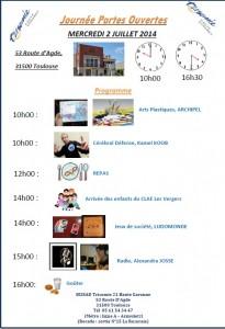 programme portes ouvertes sessad2014